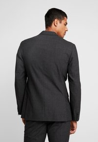 Calvin Klein Tailored - GRID CLASSIC SUIT - Suit - black - 2