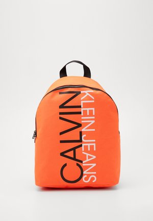 INSTITUTIONAL LOGO BACKPACK - Rucksack - neon orange