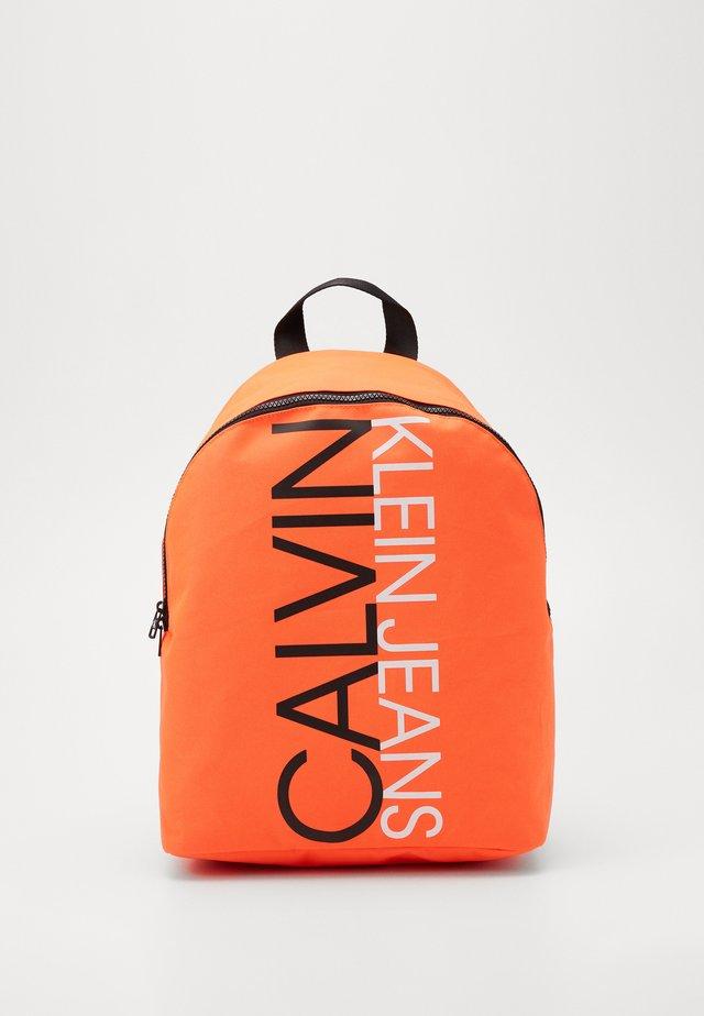 INSTITUTIONAL LOGO BACKPACK - Rucksack - neon orange