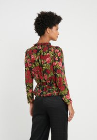 The Kooples - CHEMISE - Button-down blouse - black/red - 2
