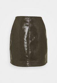 Molly Bracken - LADIES SKIRT - Mini skirt - khaki - 3