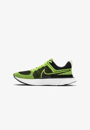REACT INFINITY RUN FK 2 - Neutral running shoes - volt black sequoia white