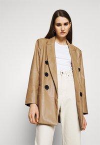 River Island - Short coat - camel - 3