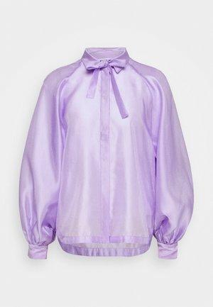 ENOLA SLEEVE - Button-down blouse - lavender