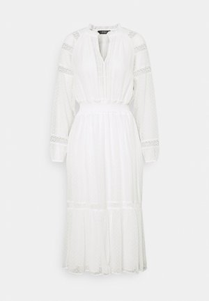 SWINTON SWISS DRESS - Day dress - white