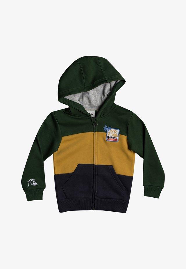Zip-up hoodie - greener pastures