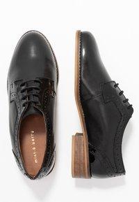 mint&berry wide fit - Stringate - black - 3