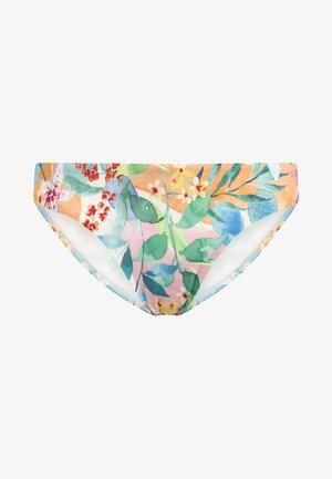 KLASSISCHER BIKINISLIP MIT BLUMEN 30723392 - Bikini bottoms - off-white