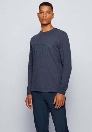 TOGN - Print T-shirt - dark blue