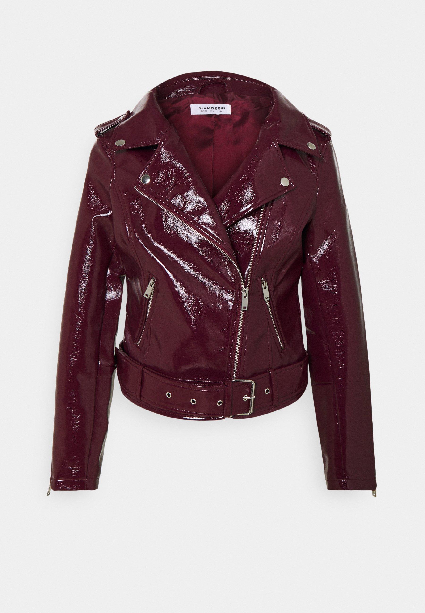 Women BIKER JACKET - Faux leather jacket