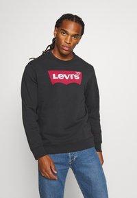 Levi's® - GRAPHIC CREW - Sweatshirt - jet black - 0