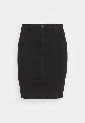 VMHOT PENCIL SKIRT - Mini skirt - black