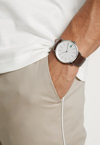 Lacoste - MOON - Montre - silver-coloured/brown - 0