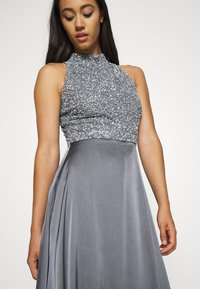 Lace & Beads - LIZA MAXI - Occasion wear - charcoal grey - 3