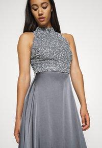 Lace & Beads - LIZA MAXI - Společenské šaty - charcoal grey - 3