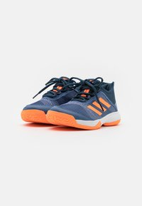 adidas Performance - ADIZERO CLUB UNISEX - Multicourt tennis shoes - crew blue/screaming orange/crew navy - 1