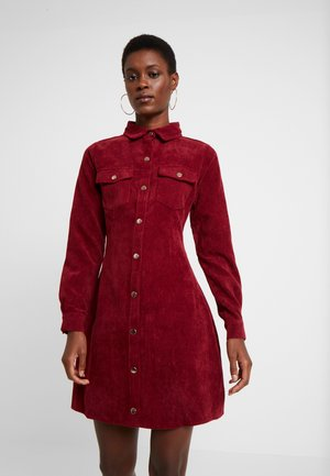 SKATER DRESS - Shirt dress - sun dried tamato
