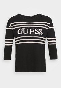 Guess - A$AP ROCKY ALESSIA - Jumper - black and white - 4