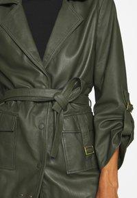 Ibana - MAE - Leather jacket - green - 4