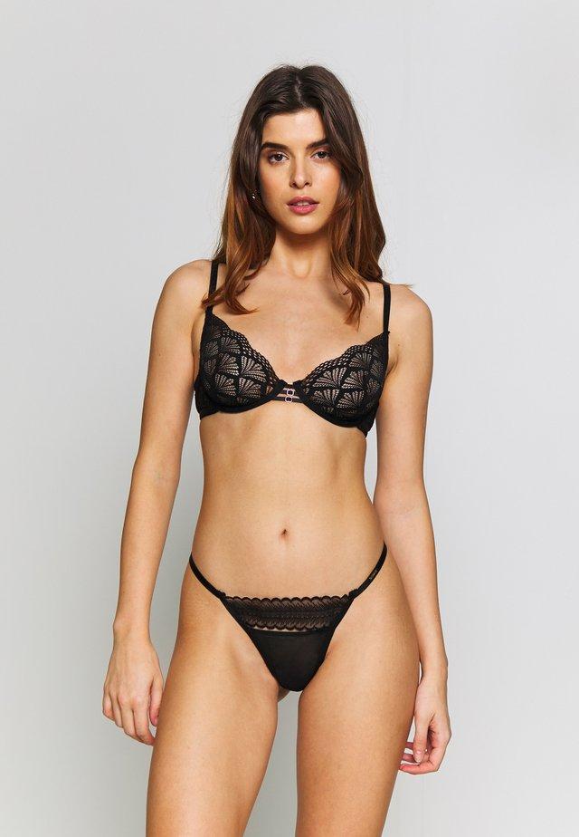 WIRE BRA - Underwired bra - black