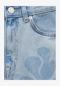 PULL&BEAR - Jeans straight leg - light blue - 5