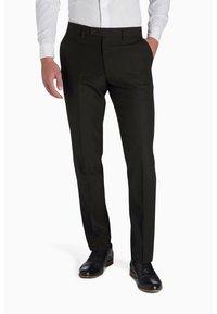 Next - TUXEDO - Pantaloni eleganti - black - 0