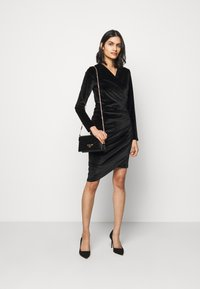 HUGO - NELVETY - Cocktail dress / Party dress - black - 1