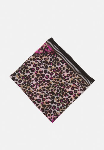 MULTIPATTERNLOOP - Sjal - dark pink