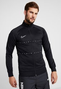 Nike Performance - DRY - Training jacket - black/white - 0