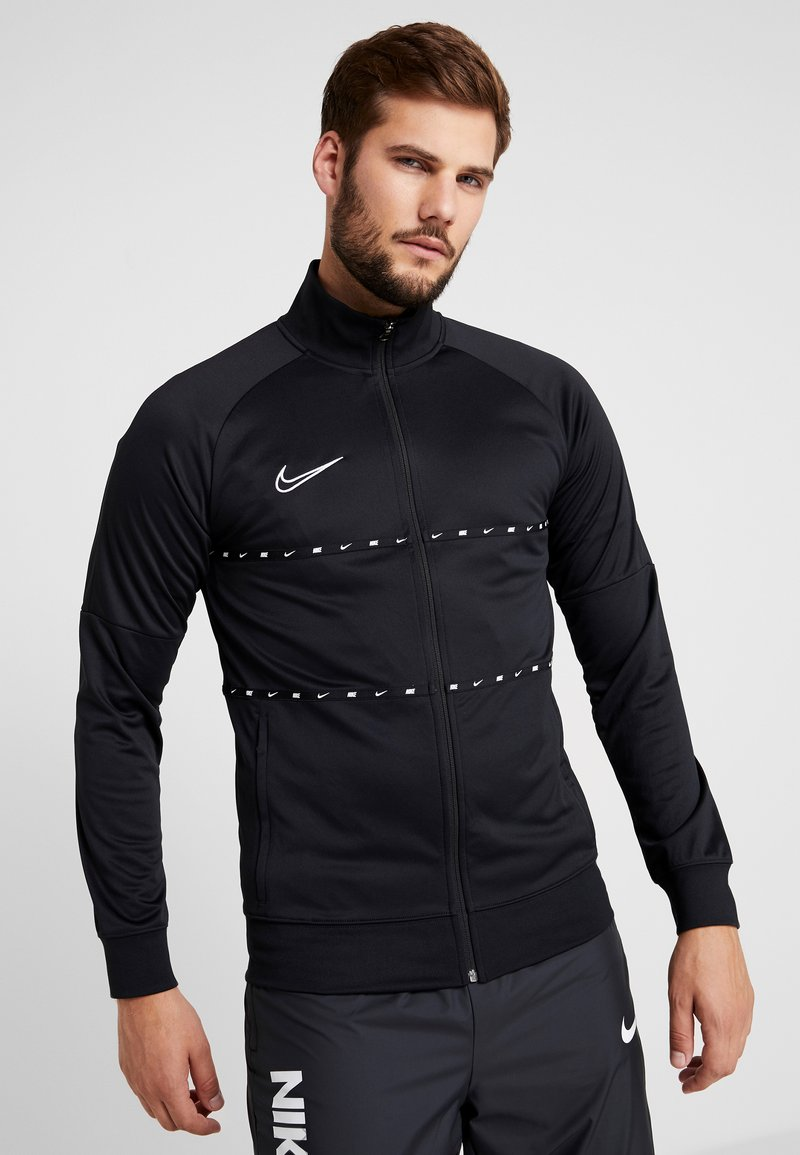 Nike Performance - DRY - Training jacket - black/white