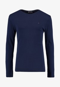 Tommy Jeans - ORIGINAL SLIM FIT - Long sleeved top - black iris - 3