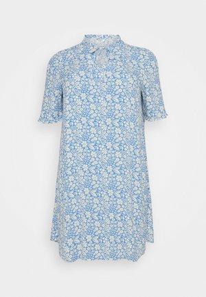 DRESS FEMININE A-LINE - Day dress - blue
