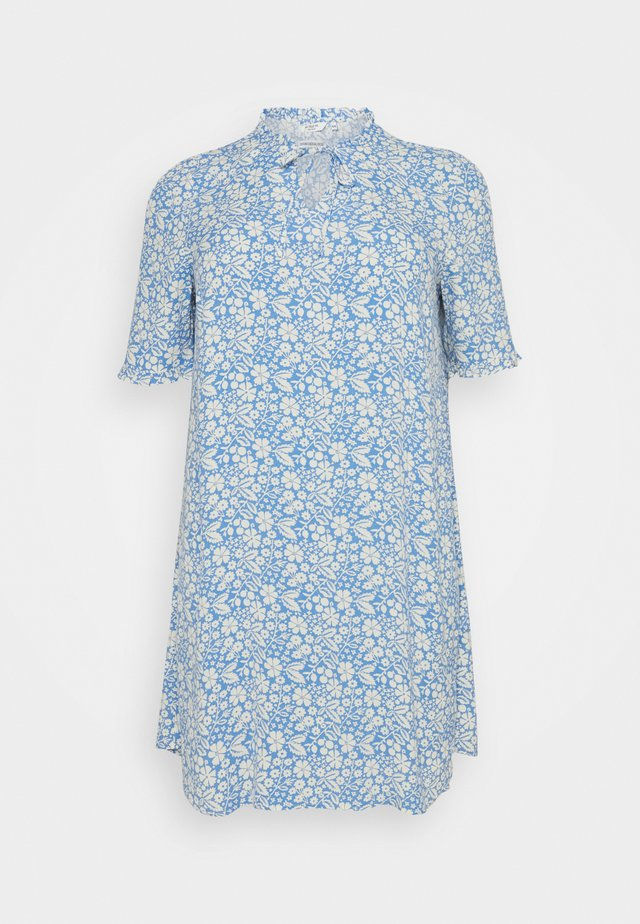 DRESS FEMININE A-LINE - Hverdagskjoler - blue