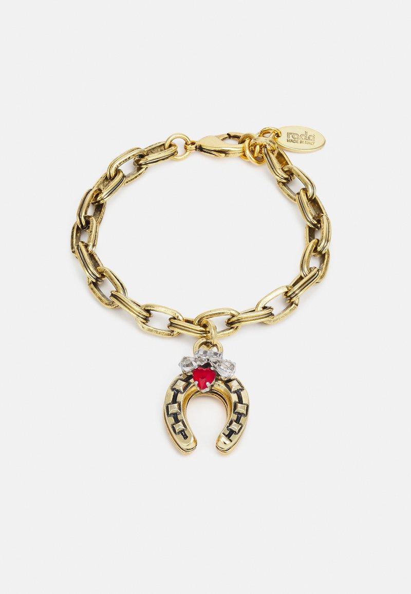 Radà - BRACELET - Bracciale - gold-coloured/red