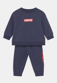 Levi's® - CREW SET - Trainingspak - peacoat heather - 0