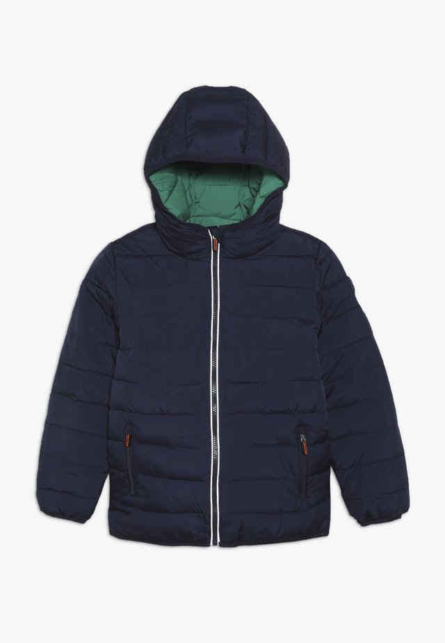 REVERSIBLE FUJI - Winter jacket - downhill navy/fresh green