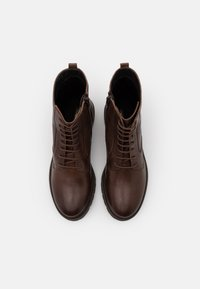 Anna Field - LEATHER - Lace-up ankle boots - dark brown - 5