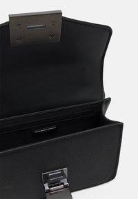 ALDO - BUGSY - Handbag - jet black/gunmetal - 2