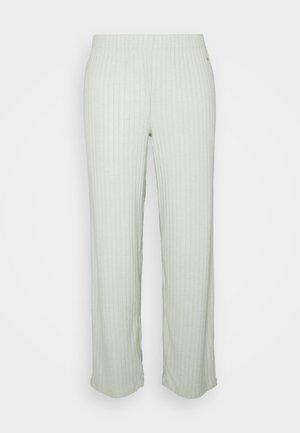 PANTS - Pyjamabroek - gray/green