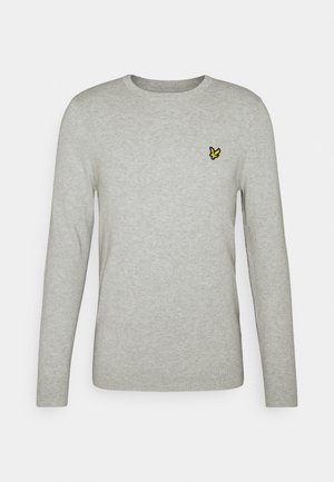 CREW NECK JUMPER - Stickad tröja - light grey marl