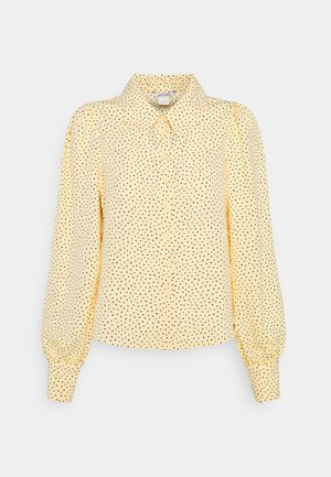 NALA BLOUSE - Skjortebluser - yellow dusty