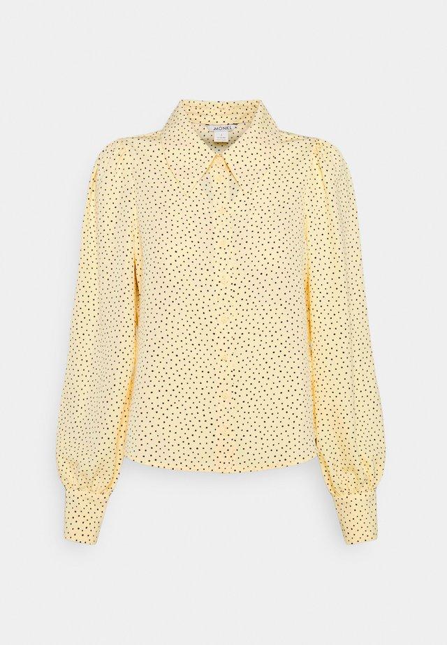 NALA BLOUSE - Skjortebluser - yellow dusty