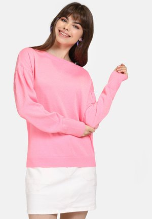 Strickpullover - light pink