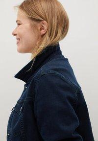 Violeta by Mango - SARAH - Denim jacket - diep donkerblauw - 3