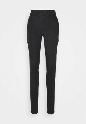 NMLUCY NW UTILITY PANTS - Pantalones - black