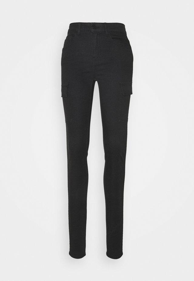 NMLUCY NW UTILITY PANTS - Spodnie materiałowe - black