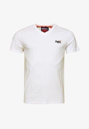 VINTAGE  - Basic T-shirt - weiß