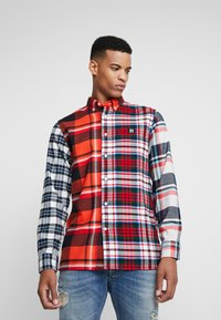 Tommy Hilfiger - LEWIS HAMILTON  MULTI CHECK SHIRT - Shirt - orange - 3
