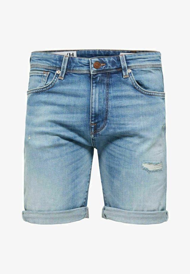 Shorts di jeans - medium blue denim