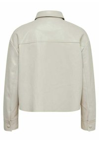 ONLY - Faux leather jacket - pumice stone - 5